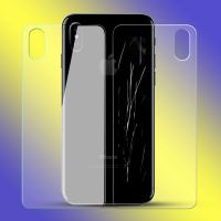Top Quality 2.5D Clear Tempered Glass Front and Back Screen Protector for iPhone X