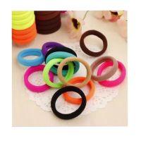 Generic Fashion Tousheng seamless high elastic hair ring hair rope Korean hair accessories hair rubber band rubber band to tie black headdress