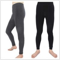 men' sthick warm high wasit plus size stirrup slimming napping outwear tights leggings pants