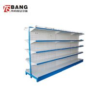 double side supermarket shelf