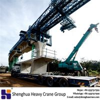 800T segment launching gantry manufacturer for lift girder from China