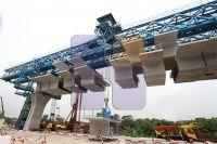 Truss type 800T girder erection bridge launcher