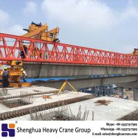 Professional 260ton double truss T type beam launcher for highway bridge erection