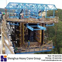 China supply design safe secure simple assembly modular cantilever form traveller formwork