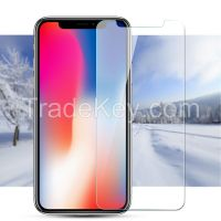 2.5D 9H 0.33MM New Model Tempered Glass Screen Protector for iPhone X
