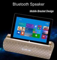 206 Portable Bluetooth Speaker With Dual Loudspeakers Mobile Tablet PC Bracket