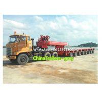 Multi Axle hydraulic semi-trailers | Goldhofer THP/SL | Modular Trailer| Lowbed