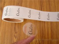 Die cut adhesive paper/vinyl/hologram sticker roll label