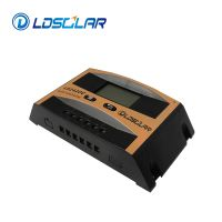 10A 12V/24V PWM solar charge controller with LCD
