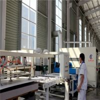 Insulation decorative integration production equipment