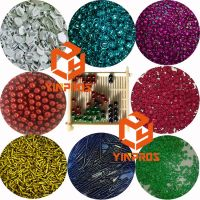 Automatic Barrel Painting Machine Eyelet Screw Slider Metal Products Paint Coating