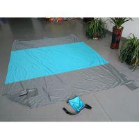 Lightweight Compact Sand Proof Parachute Nylon Beach Blanket Mat