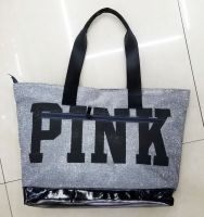 new design shopping bag|PU hand bag|pinkbag