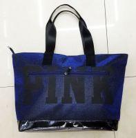 new design shopping bag|PU hand bag|pinkbag