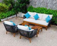 Wicker outdoor sofa set RASF-111 | Flores Collection | 2018