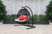 Patio Outdoor Wicker Hammock Hanging Chair RAHM-026