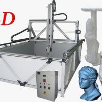 4D CNC Styrofoam Milling Router for Construction & Decoration