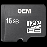 Hot sale made in China OEM fast speed TF memory card 16 GB