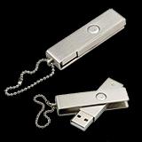 Promotional metal USB memory stick