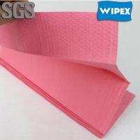 trade assurance manufacturing spunlaced non woven industrial wiper