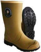 Acid-alkali resistance rubber boots