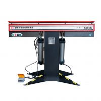 "Manual Magnetic Sheet Metal Box and Pan Brake, 1-Phase 220V, 16-Gauge Mild Steel Capacity, 48"" Length"