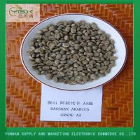 Yunnan Arabic Green Coffee Bean Grade AA