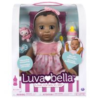 Luvabella - African American - Responsive Baby Doll with Realistic Expressions and Movement