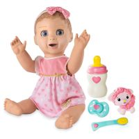 LUVABELLA INTERACTIVE BABY DOLL BY SPIN MASTER
