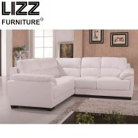 Modern Italian Style Leather Corner Sofa