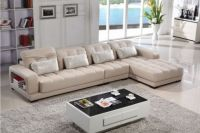 Modern L Shape Leather Sofa