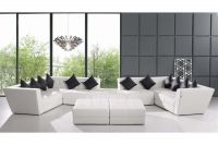 White Modern Chair Leisure Genuine Leather Sofa Home Furniture