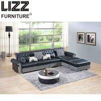 Modern Miami Furniture Leisure Sectional Leather Sofa