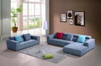 Modern Home Furniture Leisure Style Fabric Sectional Sofa