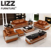 Miami Furniture Leisure Leather Sofa sets