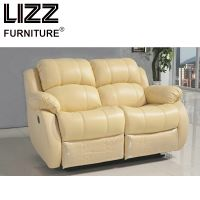 Genuine Leather Modern Electric Sofa Set with Wooden Frame