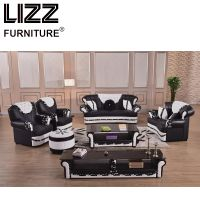 Leisure Living Room Furniture Leather Sofa
