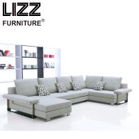 Germany Design U Shape Sectional Fabric Sofa