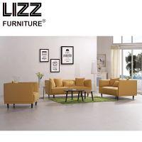 European Simple Design Fabric Sofa Set