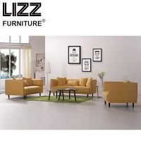 European Simple Design Fabric Sofa Set