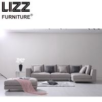Home Furniture Italian Designer Fabric Sofa