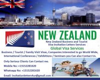 New Zealand Business and Tourist Visa Invitation Letters Services