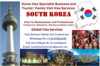 South Korea Business and Tourist Visa Invitation Letters Services