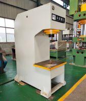 c frame type hole punching hydraulic press machine for bearing