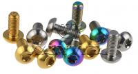 color titanium bolts, nuts, screws,