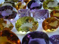 Gold Bullion, rough diamonds, copper cathode, Gemstone