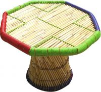 Ecowoodies Cane Activity Table  (Finish Color - Multi)