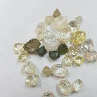 rough (uncut) diamonds