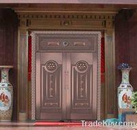 Custom Bronze Door