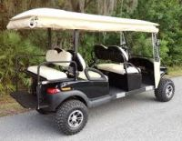2 4 and 6 seats solar powered electric and Petrol golf cart